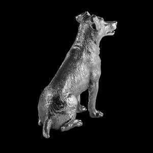 Silver Jack Russell - Height 7.6cm-Silverbasket-Silverbasket