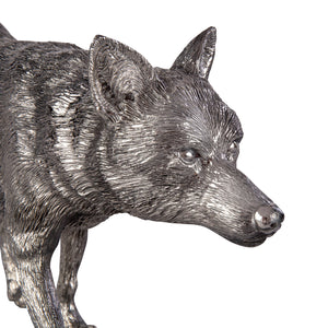 Large Silver Fox - Length 48cm