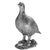 Silver Single Grouse - Height 19cm-Silverbasket