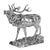 Silver Stag - Height 38cm-Silverbasket
