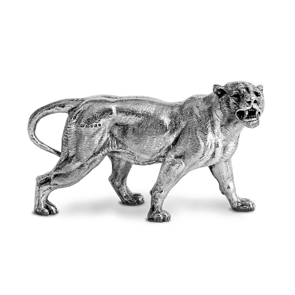 Silver Lioness - Height 12.75cm-Silverbasket