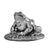 Silver Frog - Height 3.5cm-Silverbasket