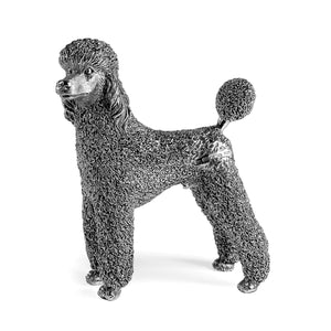 Silver Poodle - Height 12.5cm-Silverbasket-Silverbasket
