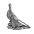 Silver Pheasants – Height 11.5cm-Silverbasket