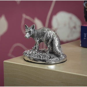 Silver Fox - Height 3.8cm-Silverbasket