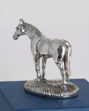 Silver Horse - Height 5.4cm-Silverbasket