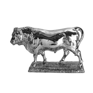 Silver Bull - Height 30.5cm-Silverbasket