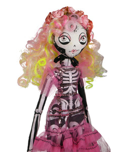 Corazon Sugarskulls Kouklita Doll