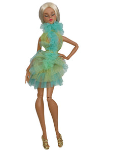 One of A Kind Ruffle Party Dress