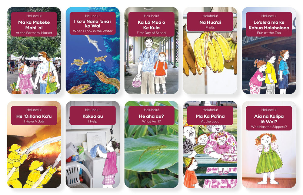 Bilingual Hawaiian Readers – Set 1