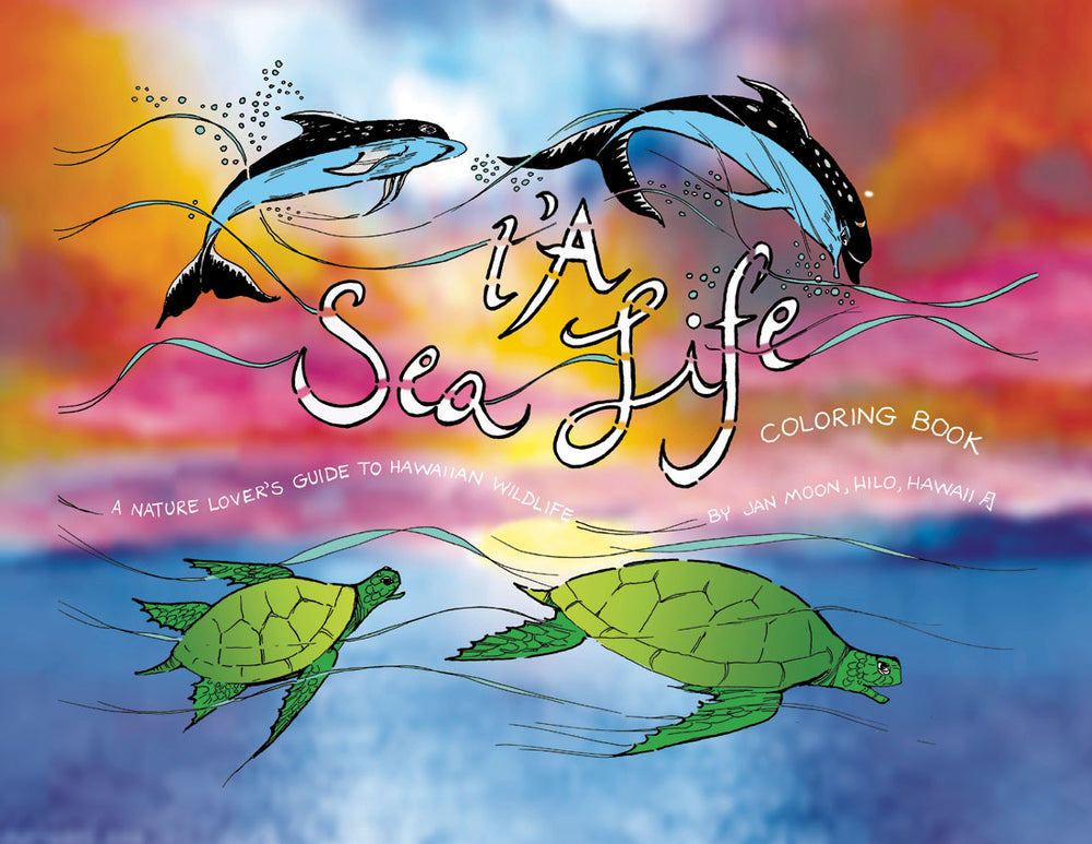I'A Sea Life Coloring Book