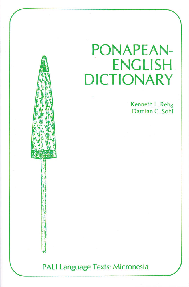 Ponapean - English Dictionary