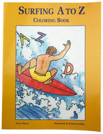 Surfing A to Z Coloring Book