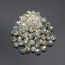 Load image into Gallery viewer, Vintage 1950s original glass aurora borealis cha cha brooch