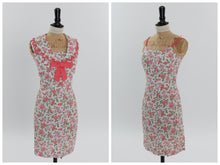 Load image into Gallery viewer, Vintage 1950s 1960s original 2 piece dress set floral print UK 6 US 2 XS
