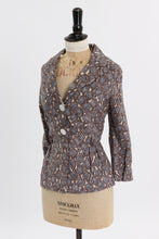Load image into Gallery viewer, Vintage 1950s original cotton jacket by Brenner London Wholesale Couture UK 8 US 4 S