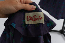 Load image into Gallery viewer, Vintage 1950s original Betty Barclay novelty print cotton dress UK 6 US 2 XS