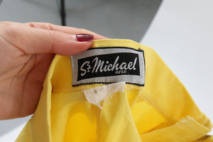 Vintage 1950s original St Michael sunshine yellow shorts UK 6 8 US 2 4 XS