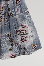 Load image into Gallery viewer, Vintage 1950s original Alfred Shaheen angel fish print cotton dress UK 6 US 2 XS