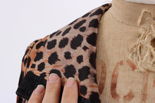 Load image into Gallery viewer, Vintage 1970s original leopard print dress possibly Bus Stop UK 6 8 US 2 4 XS