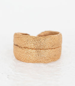 Bronze Ring Salbei Gr. 57