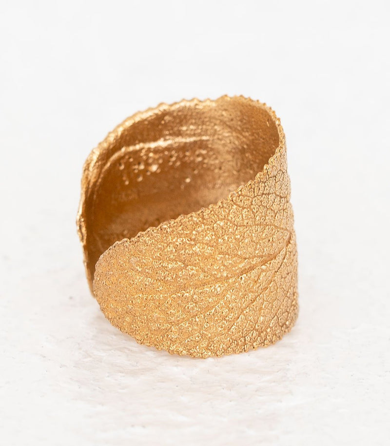 Bronze Ring Salbei Gr. 50