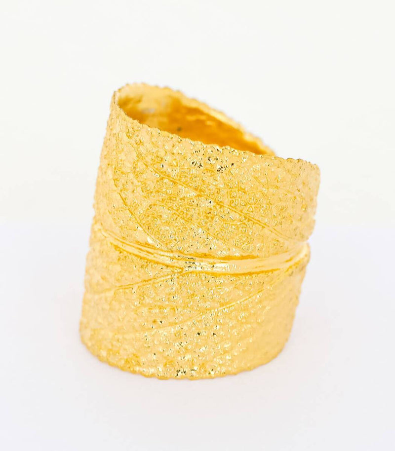 Ring Gold Salbei Gr. 52