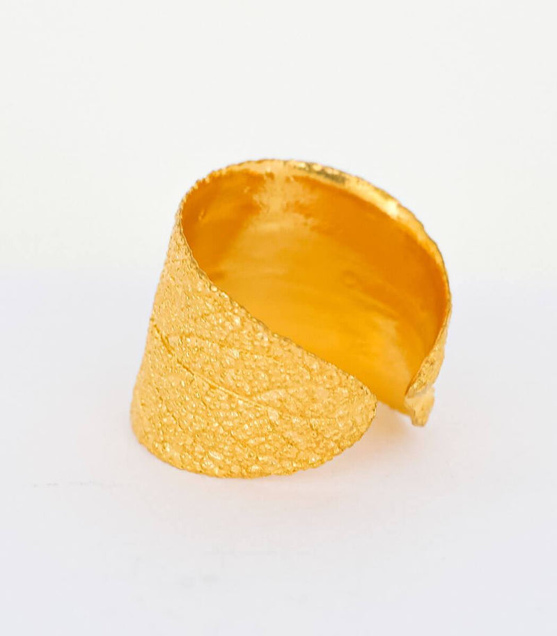 Gold Ring Salbei Gr. 54