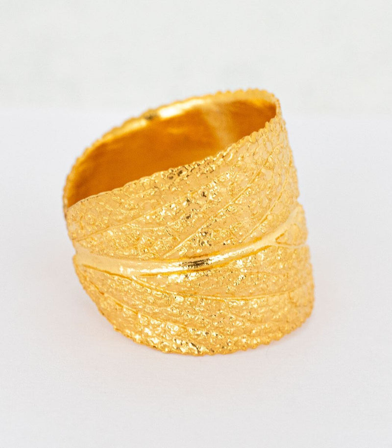 Ring Gold Salbei Gr. 60