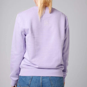 """Out of Office"" Sweatshirt unisex LAVENDEL - rosewood - Minimalistic Homes"