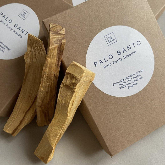 Palo Santo: Burn Purify Breathe (2er-Set) - rosewood - Minimalistic Homes
