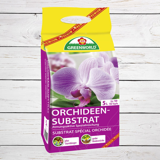 ASB Greenworld Premium Orchideen-Substrat