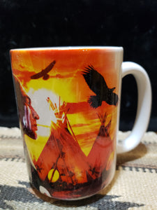 MOUNTAIN 15 oz  MUG -  Indian Collage