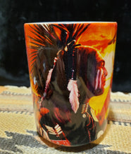 Load image into Gallery viewer, MOUNTAIN 15 oz  MUG -  Indian Collage