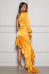Angelina Saffron Dress Elle Zeitoune By Daniella Boutique