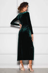 Corrine Emerald Dress Elle Zeitoune By Daniella Boutique