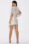 Disco Poufee Mini Dress Runaway the Label By Daniella Boutique