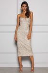 Jayce Champagne Gold Dress Elle Zeitoune By Daniella Boutique