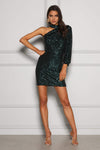 Kay Emerald Green Dress Elle Zeitoune By Daniella Boutique