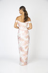 Shine Off The Shoulder Maxi Romance the Label By Daniella Boutique