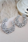 Sparkling Wreath Earring Boutique on Bellevue By Daniella Boutique