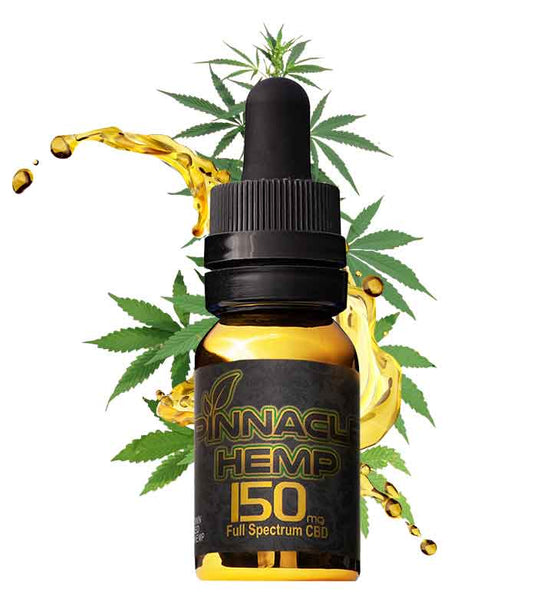 Pinnacle Hemp Full Spectrum CBD Oil 150mg