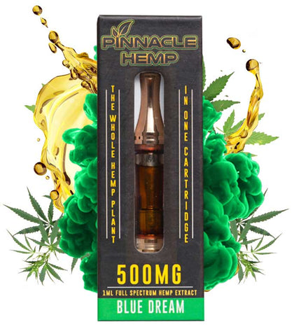 Pinnacle Hemp 500mg Cart Blue Dream