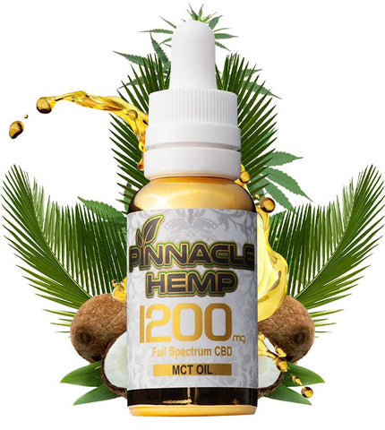 Pinnacle Hemp MCT 1200 MG Web