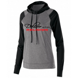 Deliver Us From Religion Performance Hoodie - Graphite Heather Gray & Black