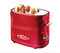 Nostalgia American home automatic mini hot dog breakfast machine sausage machine toaster (Red)