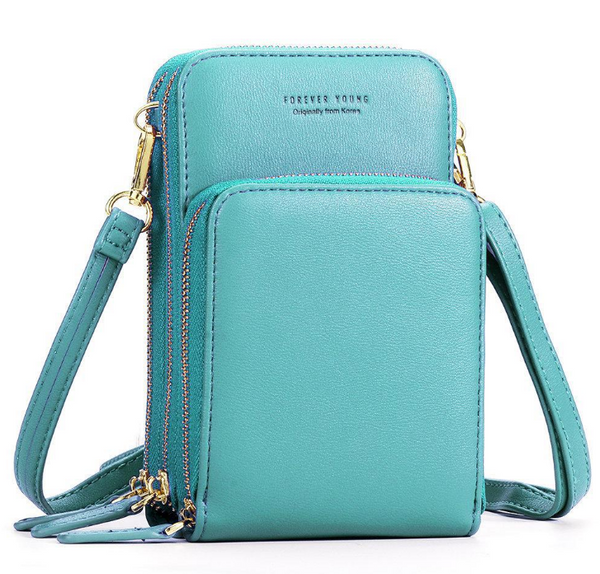 Women Leather Clutch Card Phone Bag Girl Crossbody Shoulder Travel Tote Handbag