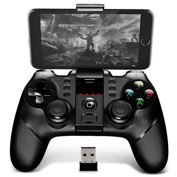 iPega PG - 9076 Bluetooth Gamepad with Bracket 2.4G Wireless Receiver