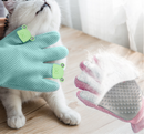 Pet hair removal brush