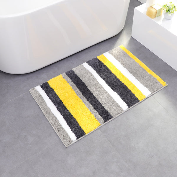 Superfine fiber line double striped home ground mat room carpet room carpet bathroom waterproof absorbent pad